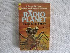 1964 The Radio Planet Ralph Milne Farley Ace F-312 paperback 1st ed VF-