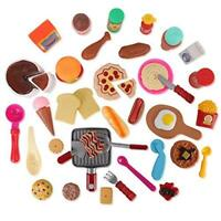 Liberty Imports Cooking Chef 50 Piece Pretend Play Food Assortment Toy Set for