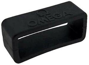 Genuine Omega Planet Ocean Strap 98000219 Retainer 20mm Rubber Keeper