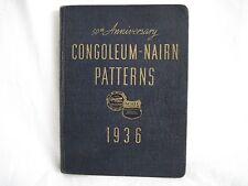 CONGOLEUM-NAIRN Patterns of Flooring Catalog 50th Anniversary 1936