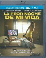 La Peor Noche De Mi Vida(Walk Of Shame) 2014 BLU-RAY + DVD,NEW
