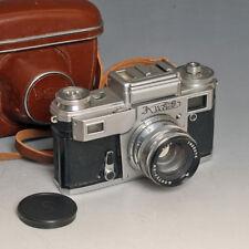 ♣ Fotocamera vintage reflex KIEV ARSENAL Kiev IIIA con Jupiter 8M 2/53