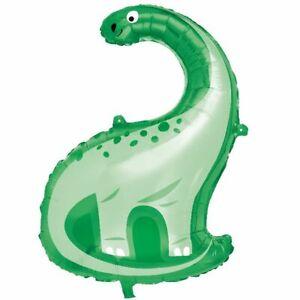 Dinosaur Roar Blue & Green Party Supplies Tableware, Balloons, Decorations
