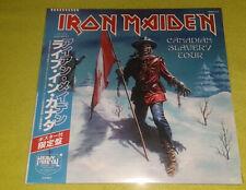 IRON MAIDEN CANADIAN SLAVERY TOUR 2 LP NEW