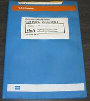 Werkstatthandbuch VW Golf  III Typ 1H Vento Digifant Einspritzanlage Zündanlage