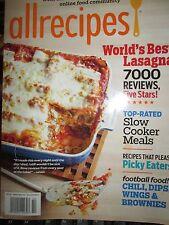 AllRecipes: World's Largest Online Food Community Magazine bursting with recipes