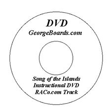 GeorgeBoards Lap Steel Guitar DVD Song of the Islands lesson C6th tuning