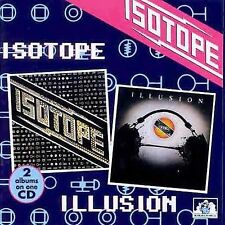 Isotope-1st / Illusion SEALED 2 on 1 CD See For Miles Hugh Hopper x-Soft Machine
