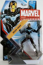 "IRON MAN (ZERO-GRAVITY SPACE ARMOR) Marvel Universe 4"" Figure #18 Series 5 2013"