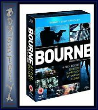 THE BOURNE COLLECTION - 4 FILM BOXSET **BRAND NEW BLU-RAY BOXSET **