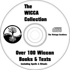 Wicca Books-Over 100 Wiccan Books on DVD- Spells, Rituals, Witchcraft, Magic