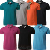 Mens Pique Polo Shirt T-shirt Tee Top Threadbare MMT 018 Short Sleeve Summer