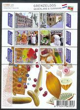 NVPH V 2752-2757a GRENZELOOS NEDERLAND & SURINAME A 2010 postfris