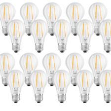 8 X Osram Led filamento bombilla forma 7W 60w E27 claro blanco Cálido 2700k