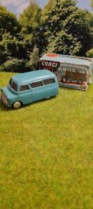 "Corgi Toys 404M Mechanical Bedford ""Dormobile"" Personnel Carrier original"