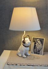 LAMPE MOPS TISCHLAMPE VINTAGE FIGURENLAMPE HUND Tischleuchte Bulldogge Lampe