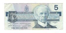 Canada - 5 Dollars, 1986