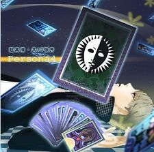 Persona 4 Arena Ultimax Tarot Cards Doll Cosplay Game 23 Cards Set Divi Cosplay