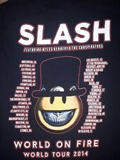 Slash Featuring Myles Kennedy and the Conspirators,  World On Fire Tour 2014.