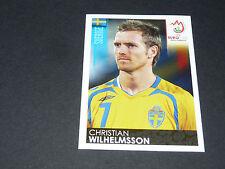 N°400 CHRISTIAN WILHELMSSON SUEDE SVERIGE PANINI FOOTBALL UEFA EURO 2008