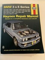 BMW 3 & 5 Series, Haynes Repair Manual 18020 (1982-1992)