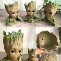 "6"" Baby Groot Flower Pot Pen Holder Toy Succulent Planter Gifts - Free Shipping"