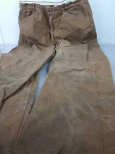 Men's vintage Drybak brown hunting pants size 30-27 1/2