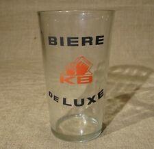 Ancien verre à bière KB Kanterbrau bière de luxe