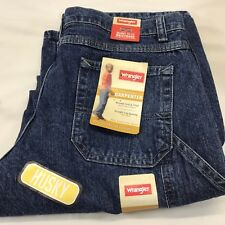 Boys Size 14 Husky Wrangler Carpenter Jeans with Adjust to Fit Waistband NEW