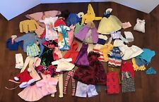 Vintage 50+ Lot Mixed Barbie Ken Skipper Handmade Clothing, Accessories, Wig