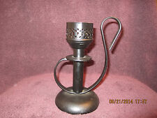 Vintage Mason Candlelight Co Cast Iron Candle Lamp-Antique Green Brook NJ WoW
