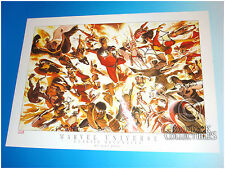 Alex Ross Marvel Universe Classic Seventies Lithograph Dynamic Forces 2004
