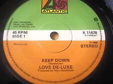 """Love De-Luxe-KEEP down 7"""" vinyle"""