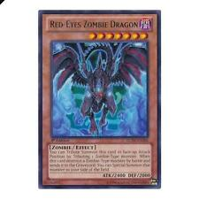 Yu-Gi-Oh! YuGiOh Red-Eyes Zombie Dragon - LCJW-EN206 - Rare Legendary Collection