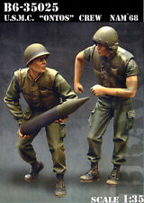 "BRAVO-6 35025 U.S.M.C ""Ontos"" Crew Vietnam '68 1/35 RESIN FIG."