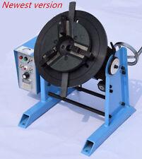 50KG Duty Welding Positioner Turntable Timing with 200mm Chuck 220V / 110V