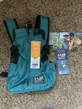 K9 Sport Sack Trainer - Dog & Cat Carrier/Backpack - Size Xs - Turquoise