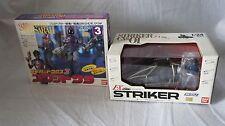Bandai 1/24 Striker EX CV-01 Metal Heroes Series Blue SWAT & COMBAT CLOTH Sarah