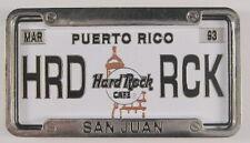 Hard Rock Cafe San Juan, PR 3D License Plate Pin Series 2002