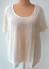 Damen-Pullover & -Strickware aus Baumwolle ohne Muster in Übergröße