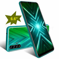 New 6.6 Inch Android 9.0 Cell Phone Unlocked Quad Core Smartphone Dual SIM Cheap