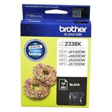 Brother Genuine LC-233BK BLACK Ink For J4120DW J4620DW J5320DW - 550 Pages