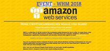$100 aws amazon web service credits EC2 SQS RDS [WHM EVENT]NON EDU CODE