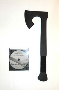 Viking Training Polypropylene Tomahawk Axe Hatchet Training DVD