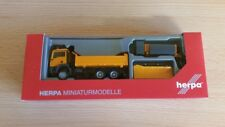 Herpa 307772 - 1/87 on TGS M 6x6 hiver Service véhicule communal-Neuf