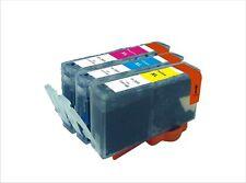 NOW INK 3 C/M/Y HP 364 XL TRIO CYAN MAGENTA YELLOW C5324 C6324 Chipped