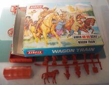 VINTAGE AIRFIX, échelle 1/72, 46 pcs x WAGON TRAIN-Bon état-bleu Bord Box