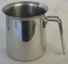 Restaurant Equipment Stainless Steel Pitcher 24 ounce Wire Handle