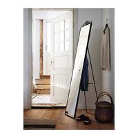 IKEA KARMSUND Specchio da terra, nero 40x167 cm appendi abiti