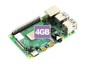 Raspberry Pi 4 Model B - 2GB - 4GB - 8GB Powerful Processor Free&Fast Shipping